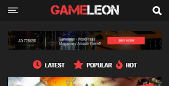 Gameleon - WordPress Arcade & Magazine Theme