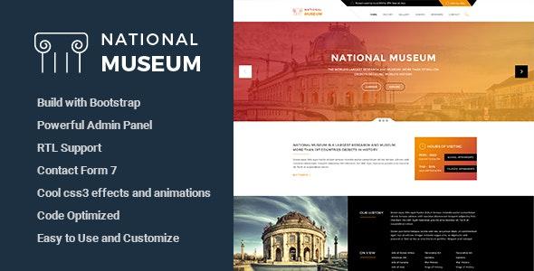 Museum - Responsive WordPress Theme - Miscellaneous WordPress