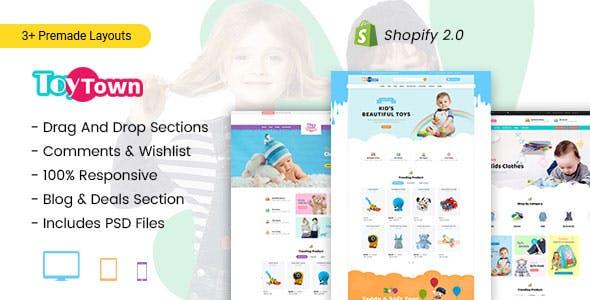 Toytown - Kids Clothing & Toys Shopify Theme