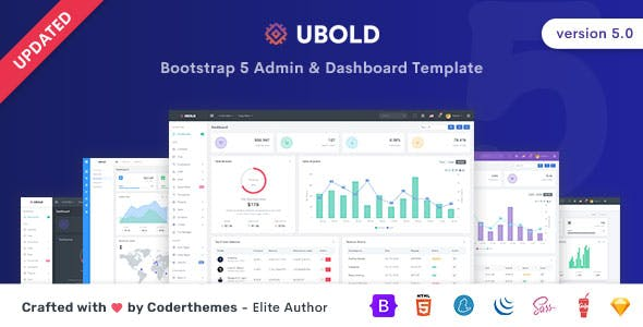 Ubold - Admin & Dashboard Template