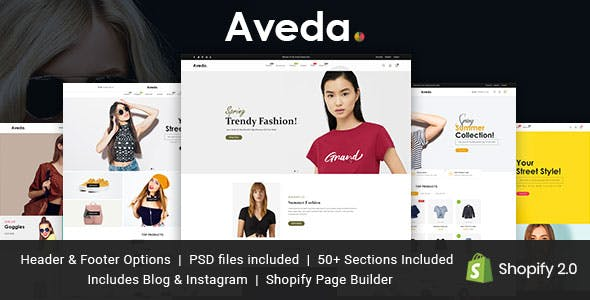 Aveda - Ultimate Shopify Theme