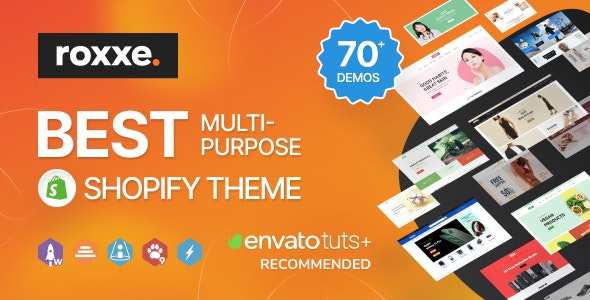Roxxe - Responsive Multipurpose Shopify Theme - Health & Beauty Shopify