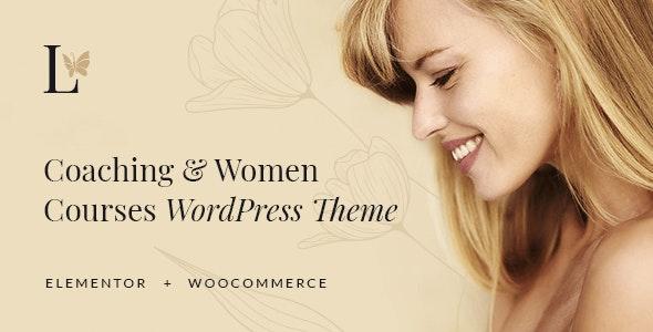 Lissa - Coaching & Women Courses WordPress Theme - Education WordPress