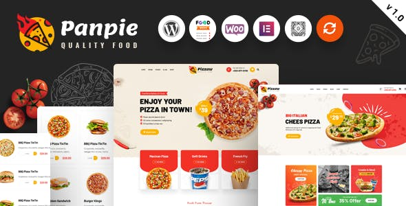 Panpie - Restaurant WordPress Theme