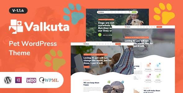 Valkuta - Pet WordPress Theme