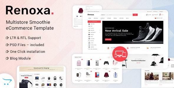 Renoxa Multipurpose Opencart Responsive theme - Shopping OpenCart
