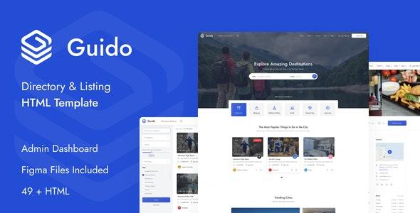 Guido - Directory & Listing HTML Template - Business Corporate