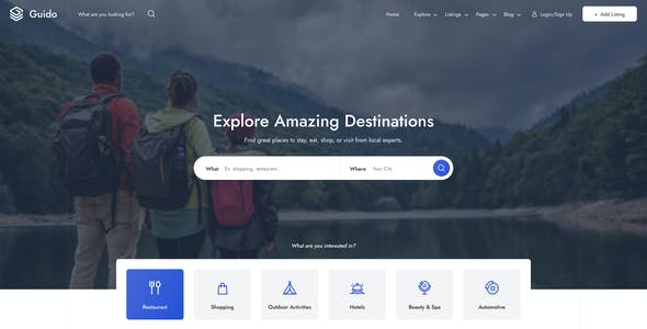 Guido - Directory & Listing HTML Template