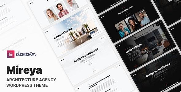 Mireya - Architecture Interior WordPress Theme - Portfolio Creative