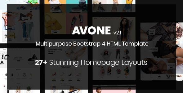Avone - eCommerce HTML Template