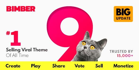 Bimber - Viral Magazine WordPress Theme - News / Editorial Blog / Magazine