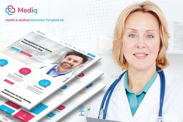 Mediq - Health & Medical Elementor Template Kit - Health & Medical Elementor