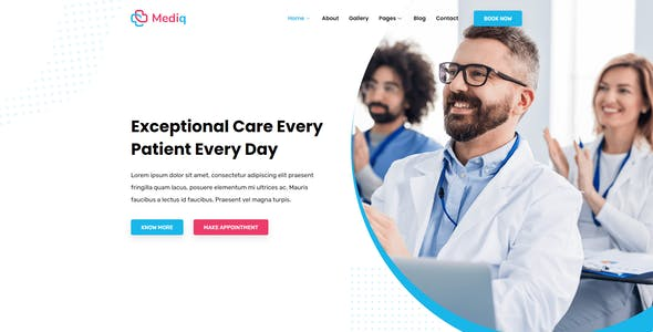 Mediq - Health & Medical Elementor Template Kit