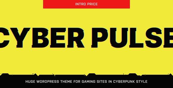 CyberPulse - Gaming & eSports Theme for WordPress - Entertainment WordPress