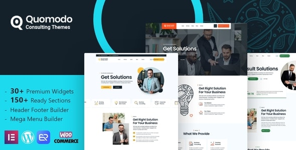 Quomodo - Business Consulting WordPress Theme - Business Corporate