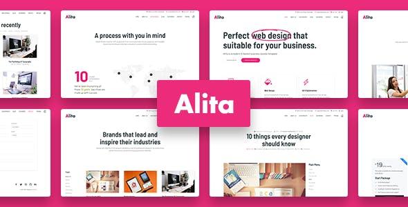 Alita - Web Studio Joomla Template