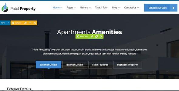 PatelProperty - Single Property Real Estate WordPress Theme