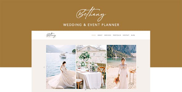 Bethany - Wedding & Event Planner Template