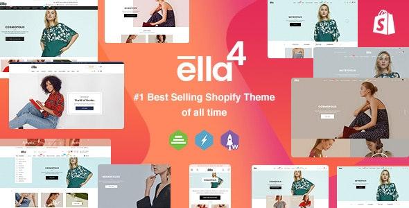 Ella - Multipurpose Shopify Sections Theme - Fashion Shopify