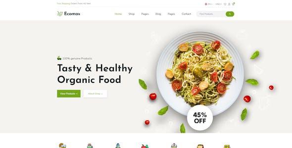 Ecomax - Multipurpose eCommerce Xd Template