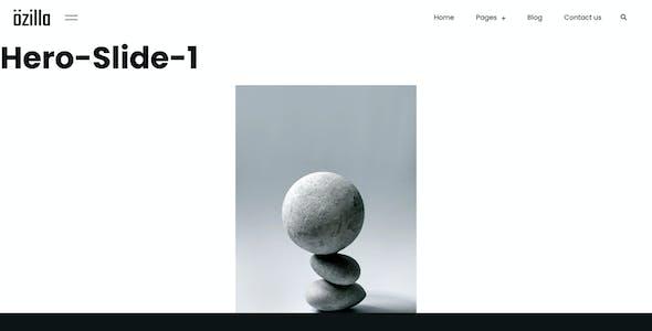 Ozilla - Digital Creative Agency Elementor Template Kit