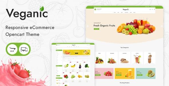 Veganic - Responsive OpenCart Theme - Health & Beauty OpenCart