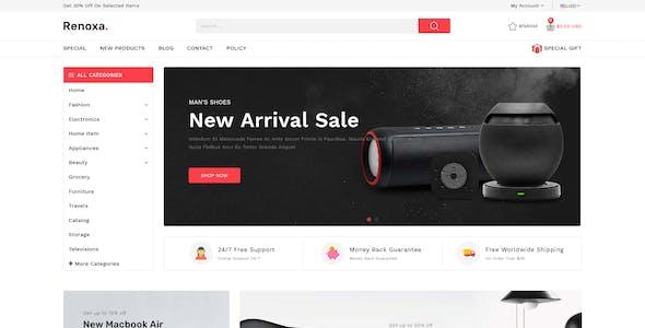 Renoxa Multipurpose E-commerce Shopify Template