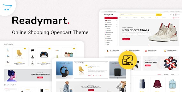 Readymart Electronics Ecommerce multipurpose OpenCart Theme - Shopping OpenCart