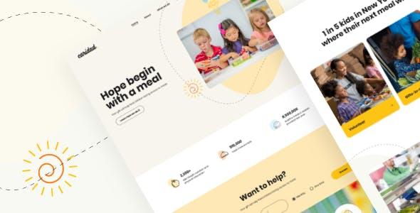Caridad - Charity WordPress