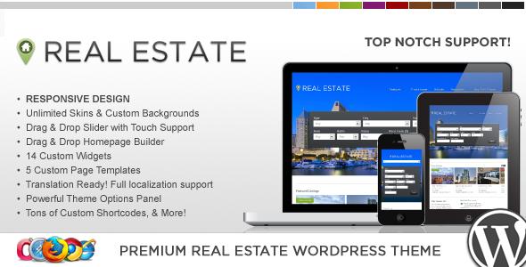 WP Pro Real Estate 4 Responsive WordPress Theme - Real Estate WordPress