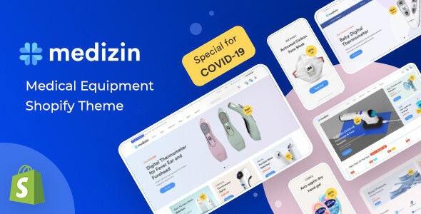 Medizin - Medical Equipment Shopify Theme - Health & Beauty Shopify