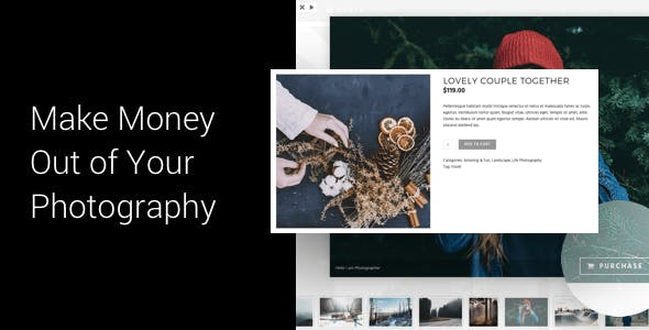 Photography WordPress