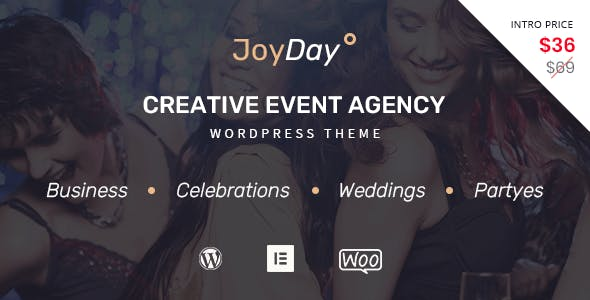 JoyDay - Creative Event Agency WordPress Theme