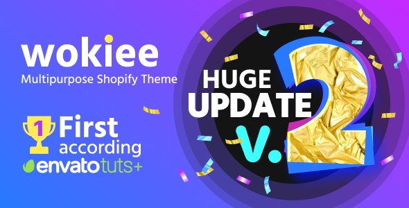 Wokiee - Multipurpose Shopify Theme - Fashion Shopify