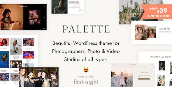 Palette: Photography Portfolio Theme