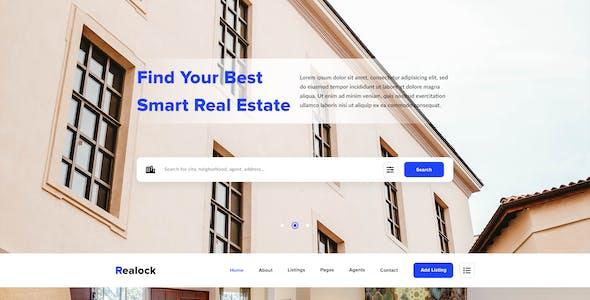 Relock - Creative Real Estate PSD Template