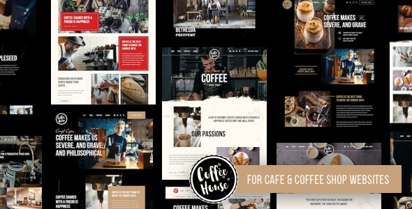 Craft | Coffee Shop Cafe Restaurant WordPress - Restaurants & Cafes Entertainment