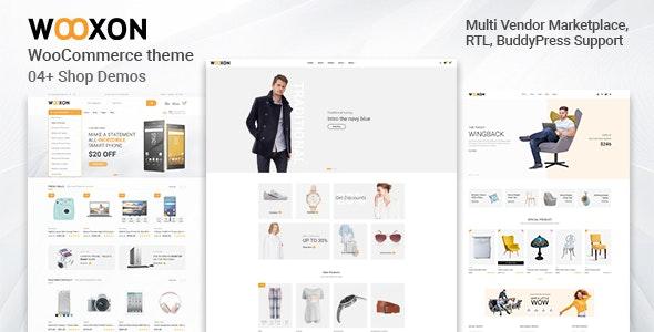 Wooxon - WooCommerce WordPress Theme - WooCommerce eCommerce