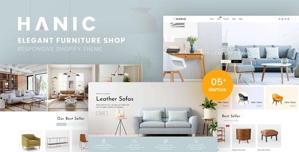 Hanic - Elegant Furniture Shop For Shopify - Shopify eCommerce