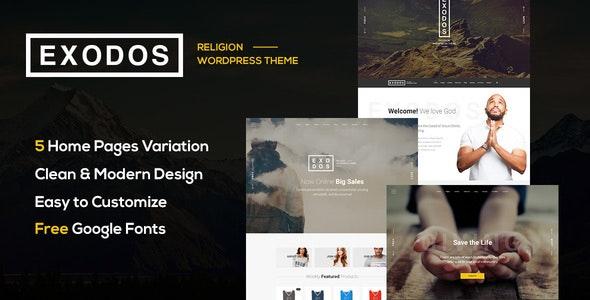 Exodos - Church WordPress Theme - Nonprofit WordPress