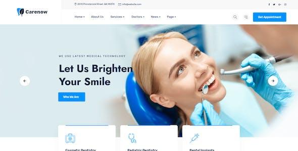 Carenow – Medical & Dentis XD Template