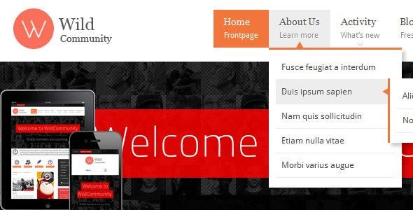 free wordpress theme easy to customize