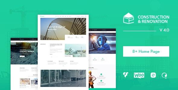Pikocon - Construction WordPress Theme - Business Corporate