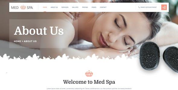MedSpa - Beauty Salon Spa HTML Template