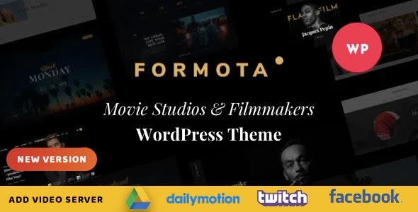 Formota - Movie Studios & Filmmakers WordPress theme - Creative WordPress