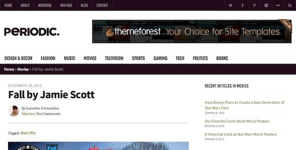 Periodic - A Premium WordPress Magazine Theme