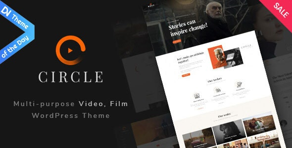 Circle - Filmmakers & Movie Studios WordPress theme - Creative WordPress
