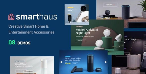 Leo Smarthaus Smart Devices & Entertainment Prestashop Theme