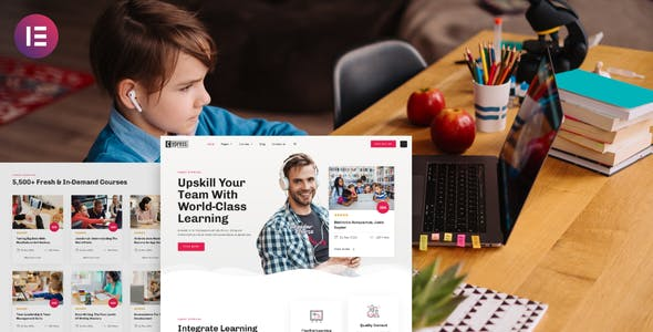 Cypress - Online Learning & Courses ElementorTemplate Kit