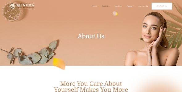 Skinera – Dermatology and Skincare Elementor Template Kit